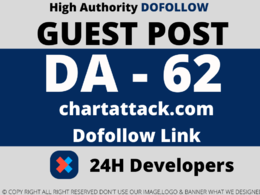 Publish a Guest Post on chartattack/chartattack.com DA 62