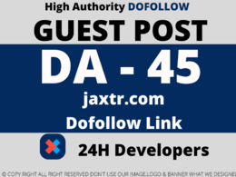 Publish a Guest Post on jaxtr/jaxtr.com DA 56