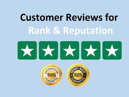 Add 15 Trust-Pilot 5 Star Review to boost google ranking & Seo