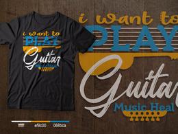 Make typography t-shirt design