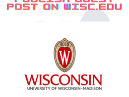 Guest Post on University of Wisconsin–Madison