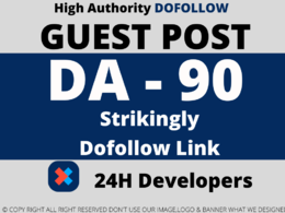 Write and Publish A Guest Post Strikingly DA90 Dofollow Backlink