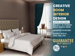 Modern & Realistic Room Interior Design