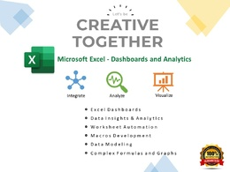 Microsoft Excel Dashboards, Macros Development and vBA Coding.