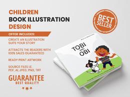 Design a children illustration book