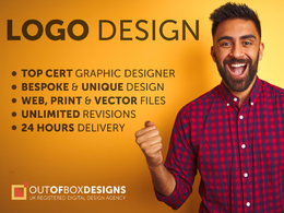 Design a logo with unlimited revisions and a FREE business card