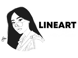 Do line art of your photo in one day