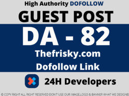 Publish a guest post on Thefrisky.com DA 82