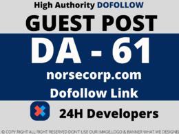 Publish a Guest Post on norsecorp/norsecorp.com DA 61