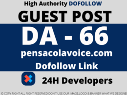 Publish Guest post on pensacolavoice/pensacolavoice.com DA 66