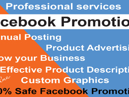 Promot your business in UK/USA by facebook marketing