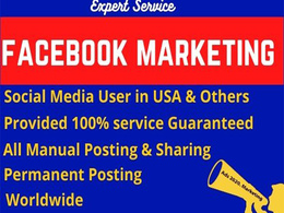 Best facebook marketing and promotion in USA
