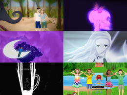 Make a 2D animated music video