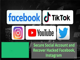 Recover hacked instagram,facebook, Twitter, social media account