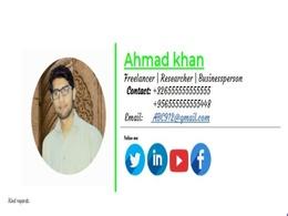 Ahmad's header