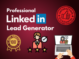 Do professional lead generation (100 Leads)