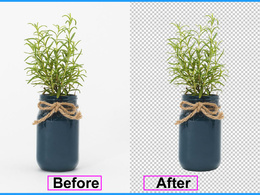 Remove Background up to 15 simple photos