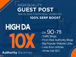 10 Guest Posts on Elite Dofollow High Authority Domains