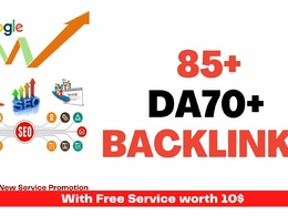 Exclusive 85+ DA70+ to Rank higher in Search result