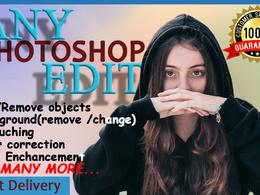 Do any professional photoshop edit