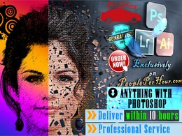 Do anything and everything in photoshop