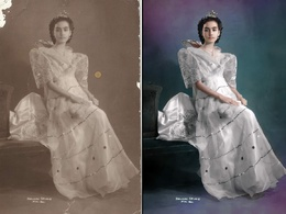 Restore and colorize your old photos for an awesome present