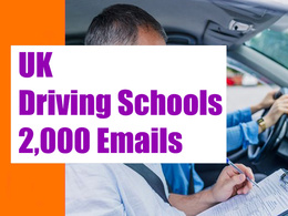 UK Driving Schools Email list, Email database 2K Email Addresses