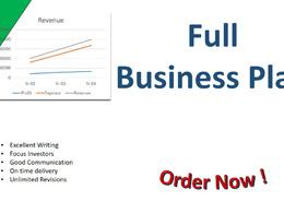 Business Plan's header