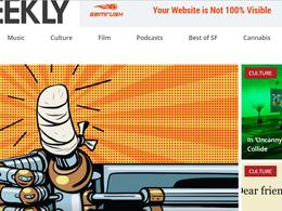 Guest post on Sfweekly news website – DA 75