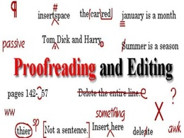 Proofread and edit your book or report of up to 25,000 words