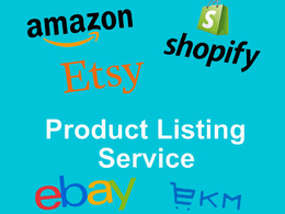 List 10 Products to Amazon, Etsy, EKM, eBay or Shopify