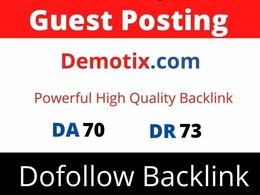 Publish Guest Post On Demotix, Demotix.com DA 70 Dofollow Link