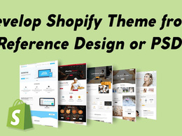 Develop PSD into Shopify rich quality pixel to pixel website