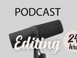 Edit your 20 min podcasts