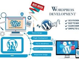 Wordpress development, bug fixing