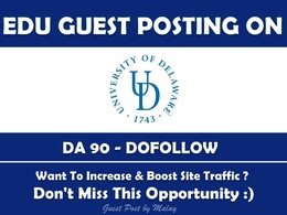 Guest post on  University of Delaware UDEL EDU udel.edu DA90