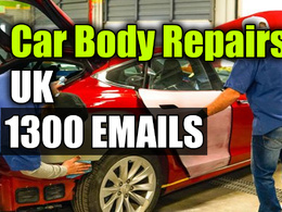 Car Body repairs email database 1300 email addresses