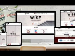 WISE Digital's header
