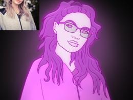 Monika's header