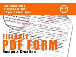 Create a professional interactive fillable PDF form