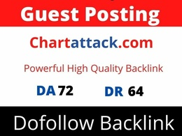 Guest Post on Chartattack, Chartattack.com DA 72 Dofollow Link