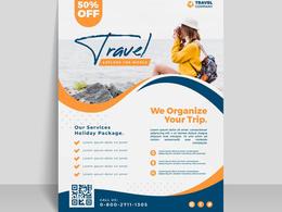Design a professional, minimalist, premium Flyer design