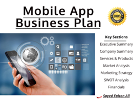 Write a Robust and Detailed Mobile App Business Plan