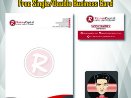 Create a Professional Letter Head + Free Business Card Design