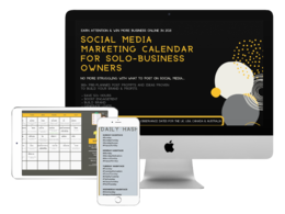 Send you 2021 Social Media Content Calendar, 365+ Post Prompts