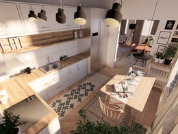 FULL PACKAGE: Floor plans+ (4) 3D images+(1) Panorama