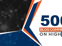 Manual Build 500 High Athority Blog Comments Backlinks