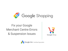 Fix any Google Merchant Centre Disapproval