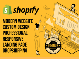 Build you a professional dropshipping shopify store