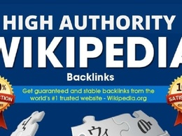 Create High Quality Wikipedia Backlink for your Website